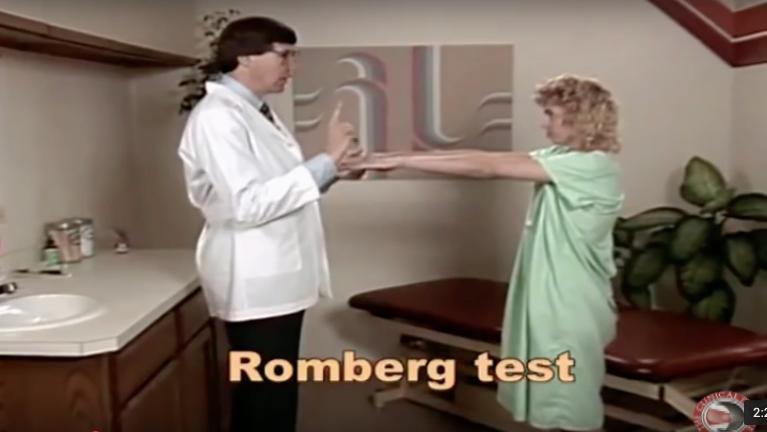 Romberg Test - Physical Exam