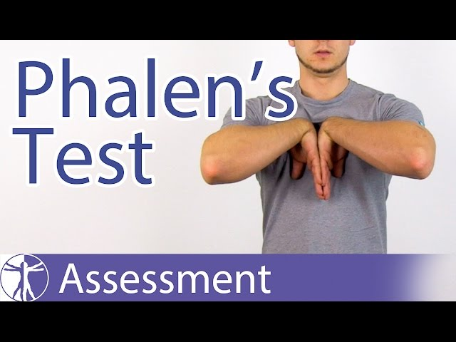 Phalen's Test⎟Carpal Tunnel Syndrome