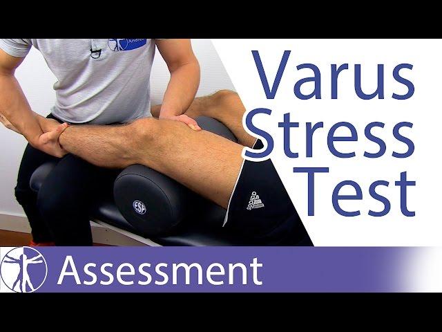 Varus Stress Test (Knee) - Physical Exam