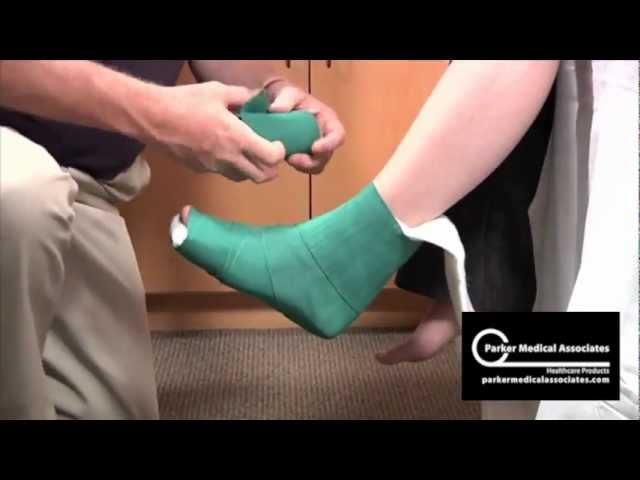 Posterior Ankle Splint Technique