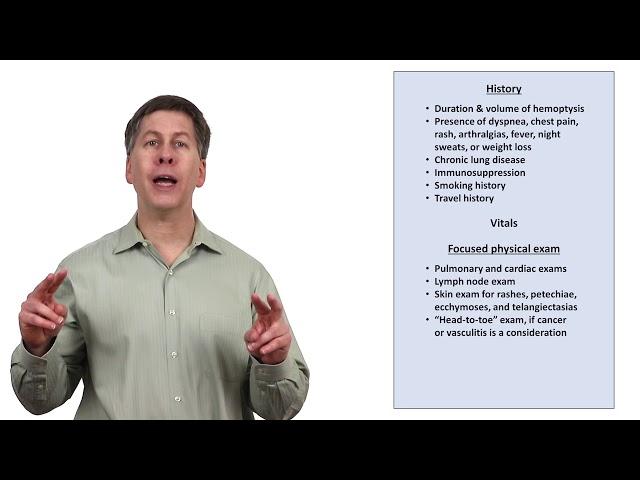 An Approach to Hemoptysis