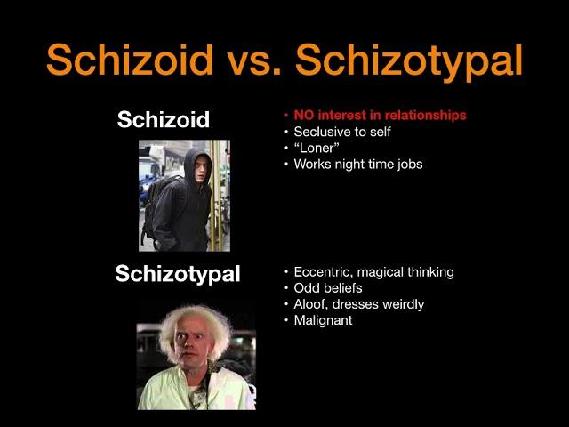 Schizophrenia vs. Schizophreniform vs. Schizoaffective vs. Schizoid vs. Schizotypal and More!