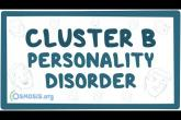 Cluster B personality disorders (antisocial, borderline, histrionic, narcissistic)
